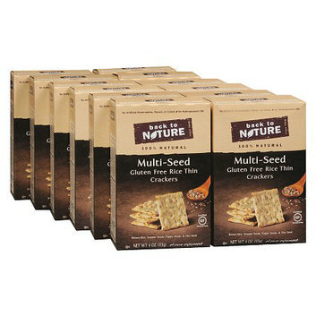 Back to Nature Crackers 12 Pack