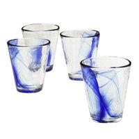 Bormioli Rocco Murano Tumblers Set of 4 - Cobalt Blue