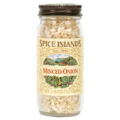 Spice Islands Onion, Minced, 1.8-Ounce (Pack of 3)
