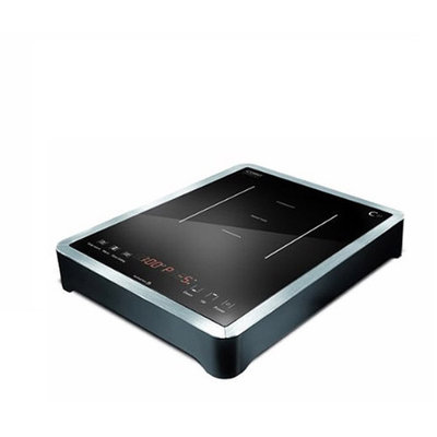 Caso CS21 1500W Single Tabletop Induction Burner with Sensor Touch Operation and Dual Displays