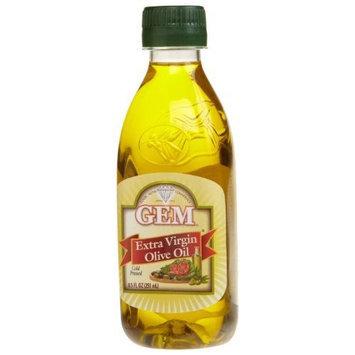 Gem Extra Virgin Olive Oil, 8.5-Ounces Bottles (Pack of 6)