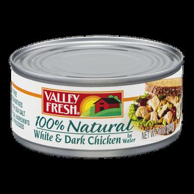 Valley Fresh 100% Natural White & Dark Chicken in Water