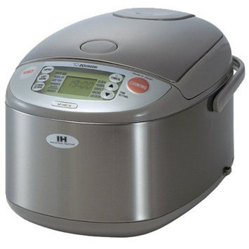 Zojirushi NP-HBC18XA Induction Rice Cooker and Warmer - 10 cup