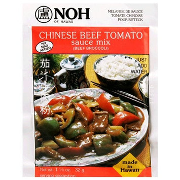 Noh Foods Of Hawaii NOH Chinese Beef Tomato, 1.2-Ounce Packet, (Pack of 12)