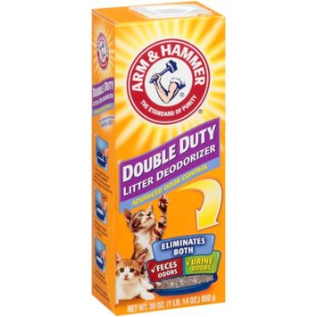 Arm & Hammer Double Duty Cat Litter Deodorizer, 30 oz