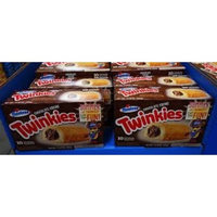 Hostess Chocolate Creme Twinkies - Limited Edition - 10 Cakes/Box (Pack of 4)