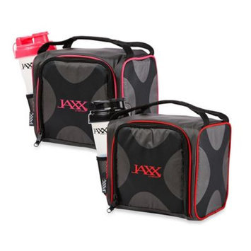 Medport Jaxx Fuel Pack with Portion Control Containers & Shaker Cup - Pink & Black