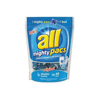 Sun Products Corporation Mighty Pacs Free and Clear Super Concentrated Laundry Detergent