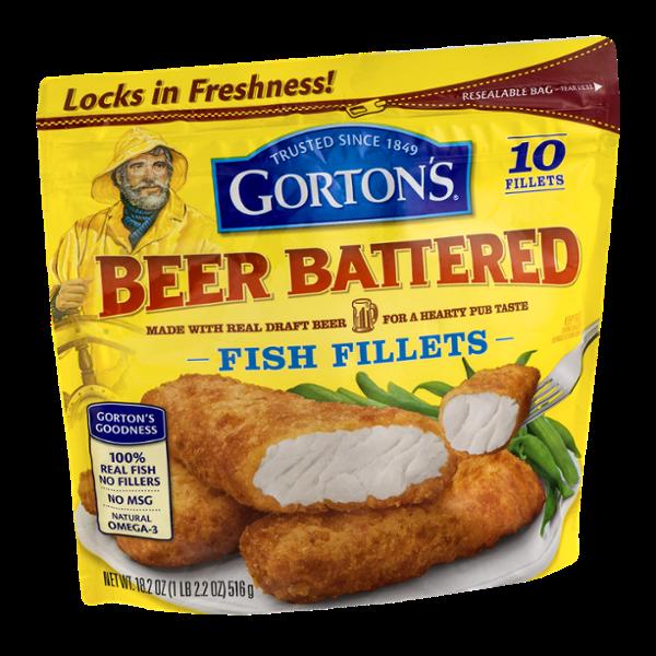 Gorton 39 s beer battered fish fillets 10 ct reviews for Best frozen fish