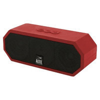 Altec Lansing Jacket Bluetooth Wireless Stereo Speaker - Red/Black