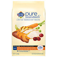 Nature's Recipe Pure Essentials Grain Free Adult Dog Food Chicken and Sweet Potato