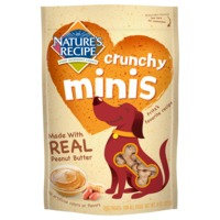 Nature's Recipe Natures Recipe Crunchy Minis Peanut Butter Dog Treat