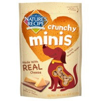 Nature's Recipe Natures Recipe Crunchy Minis Cheese Dog Treat