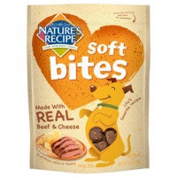 Nature's Recipe Natures Recipe Soft Bites Beef and Cheese Dog Treat