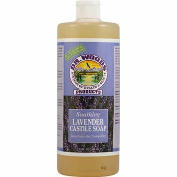 Dr. Woods Castile Soap Soothing Lavender 32 fl oz