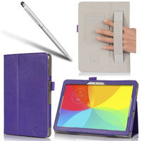 i-Blason LG G Pad 10.1 Book PU Leather Case, Purple
