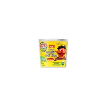 Earth's Best Organic Snackin' Fruit Rings Banana, 1.4 Ounce Cup (Pack of 12)
