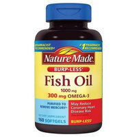 Nature Made Fish Oil Dietary Supplement Softgels, 1000mg, 160 count