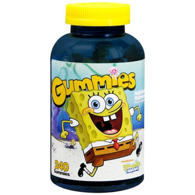 Spongebob Squarepants Multivitamin MultiMineral Gummies