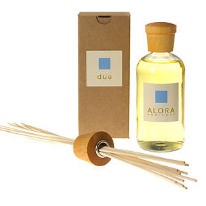 Alora Ambiance Reed Diffuser and Sticks, Due, 16 fl oz