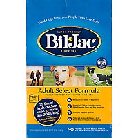 Kelly Foods Corporation Bil-Jac Adult Select Dry Dog Food, 30 lbs.