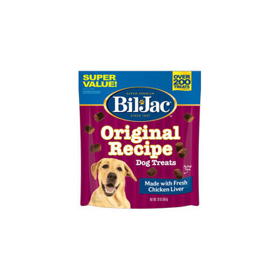 Bil-Jac Original Chicken Liver Dog Treats, 20 oz.