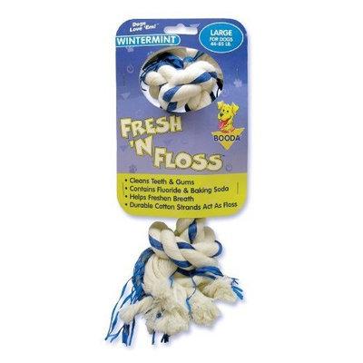 Booda Fresh N Floss 2 Knot Bone Rope Dog Toy