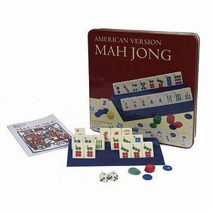 Classic Game Collection Mahjong American Version in Tin Storage Case Ages 8+