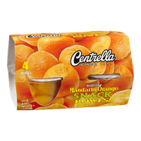 Centrella Snack Bowls Mandarin Orange - 4 CT