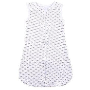 Kushies Baby Kushies Everyday Layette Sleep Blanket - White Dots (6 Months)