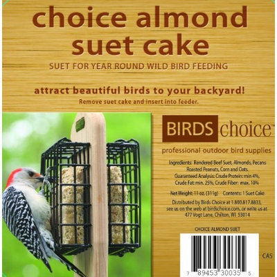 Bird's Choice Choice Almond Cake - 11 oz