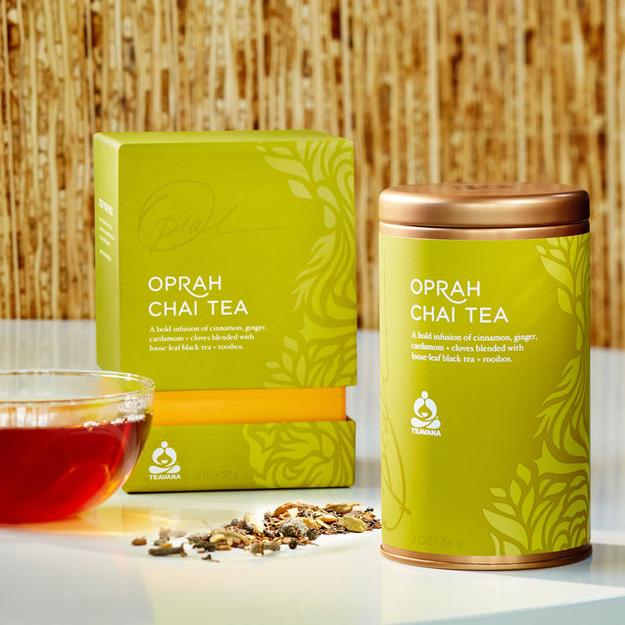 Teavana Oprah Chai Tea Starbucks
