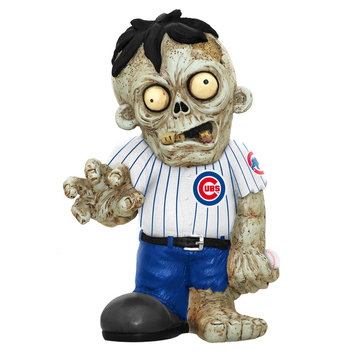 Recaro North Forever Collectibles MLB Resin Zombie Figurine, Chicago Cubs