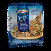 Birds Eye Voila! Chicken & Vegetables in Pot Pie Gravy & Crust Crumbles
