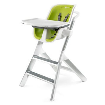 4moms High Chair - White / Green