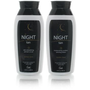 Bask Night Tan 2 Step Sunless Tanning System + Sleep Mask