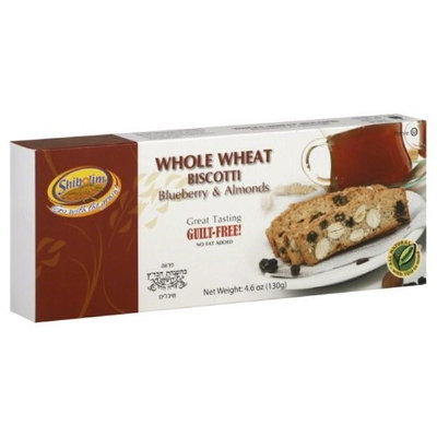 Shibolim Whole Wheat Chocolate Flavored Biscotti, Blueberry and Almonds, 4.6-Ounce