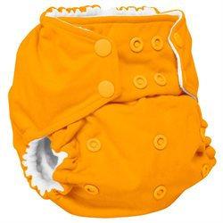 Gresco Rumparooz One Size Cloth Pocket Diaper, Pumpkin, Snap 6-35+ lbs.