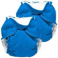 Gresco Lil Joey 2 Pack All in One Cloth Newborn Diaper, Bermuda 4-12lbs.