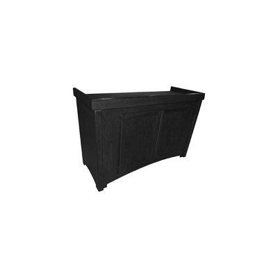 R & J Enterprises Black Calypso Birch Cabinet, 48.75