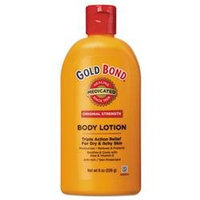 Gold Bond Original Strength Medicated Body Lotion, 8 oz Bottle