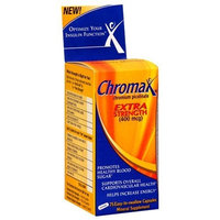 Chromax Extra Strength (400mg each)- 75 Easy-to-swallow Capsules