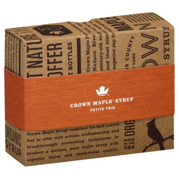 Crown Maple MPL SYRUP, OG2, PETITE TRIO, (Pack of 6)