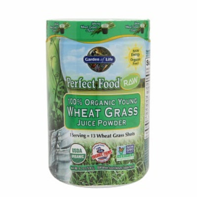 Garden Of Life Garden of Life Perfect Food Raw 100% Organic Young Wheat Grass Juice Powder
