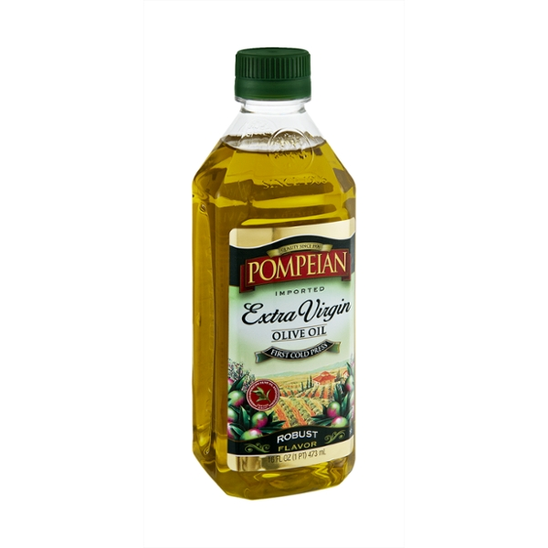 Pompeian Robust Flavor Extra Virgin Olive Oil