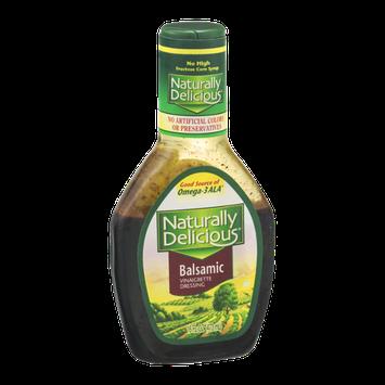 Naturally Delicious Balsamic Vinaigrette Dressing