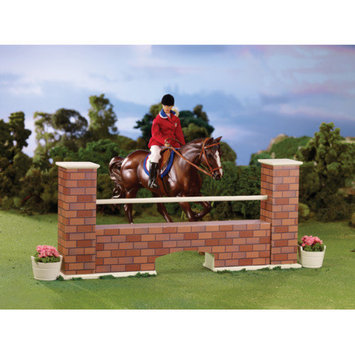 Breyer Horses Horse Figurine Brick Wall Jump