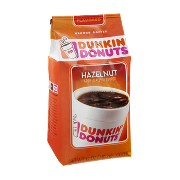 Dunkin' Donuts Hazelnut Ground Coffee