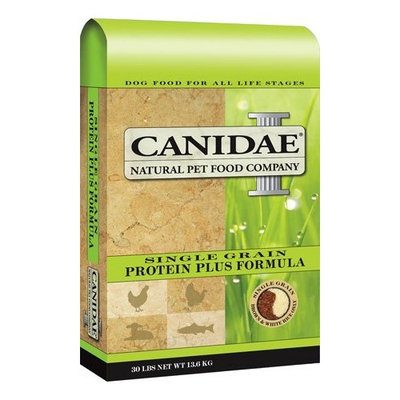 CANIDAE ALL NATURAL DOG FOOD 640461016037 Single Grain Protein Plus Dry Dogs Food, 5-Pound Bag