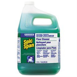 Spic & Span Floor Cleaner Liquid 1 Gallon Each